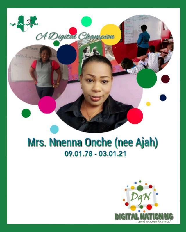 Mrs Onche Nnenna